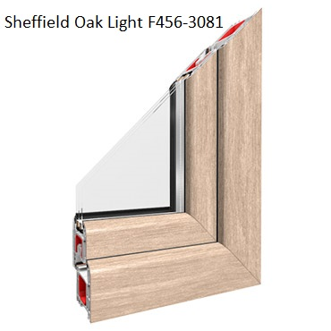 Sheffield Oak Light F456-3081